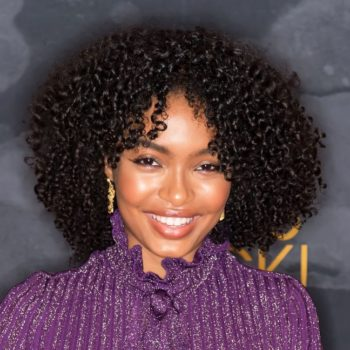 Yara Shahidi just showed us how to work mesh inserts into a red carpet ensemble