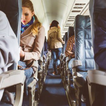 These are the filthiest places on airplanes you'll want to avoid