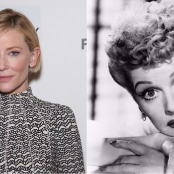 Aaron Sorkin is writing a Lucille Ball movie with Cate Blanchett set to star, and someone's been reading our dream journal