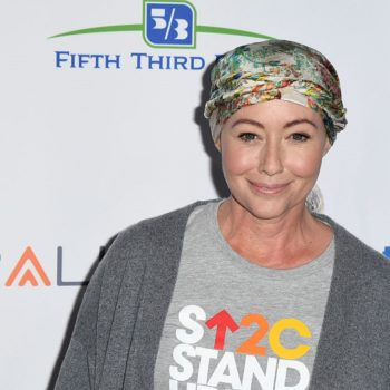 Shannen Doherty showed off her stunning new haircut after undergoing chemo