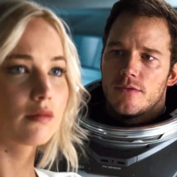 """Jennifer Lawrence said what she'd have done differently in """"Passengers"""""""