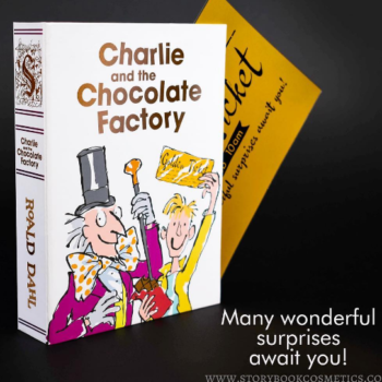"Storybook Cosmetics' ""Charlie and the Chocolate Factory"" eyeshadow shades are deliciously sweet"