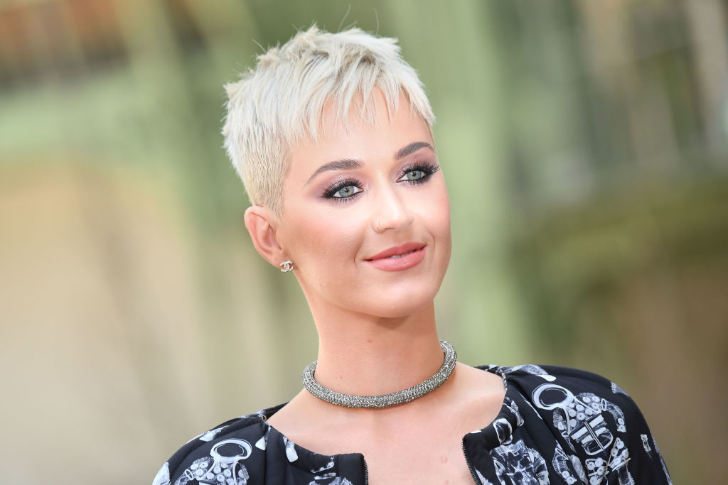 Katy Perry Says Her Short Hair Has Liberated Her