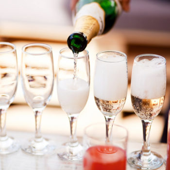 Prosecco pong exists, and it's beer pong's older, sophisticated cousin