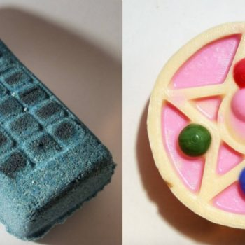The brand that brought us concha bath bombs just released a '90s-themed collection for our nostalgic hearts