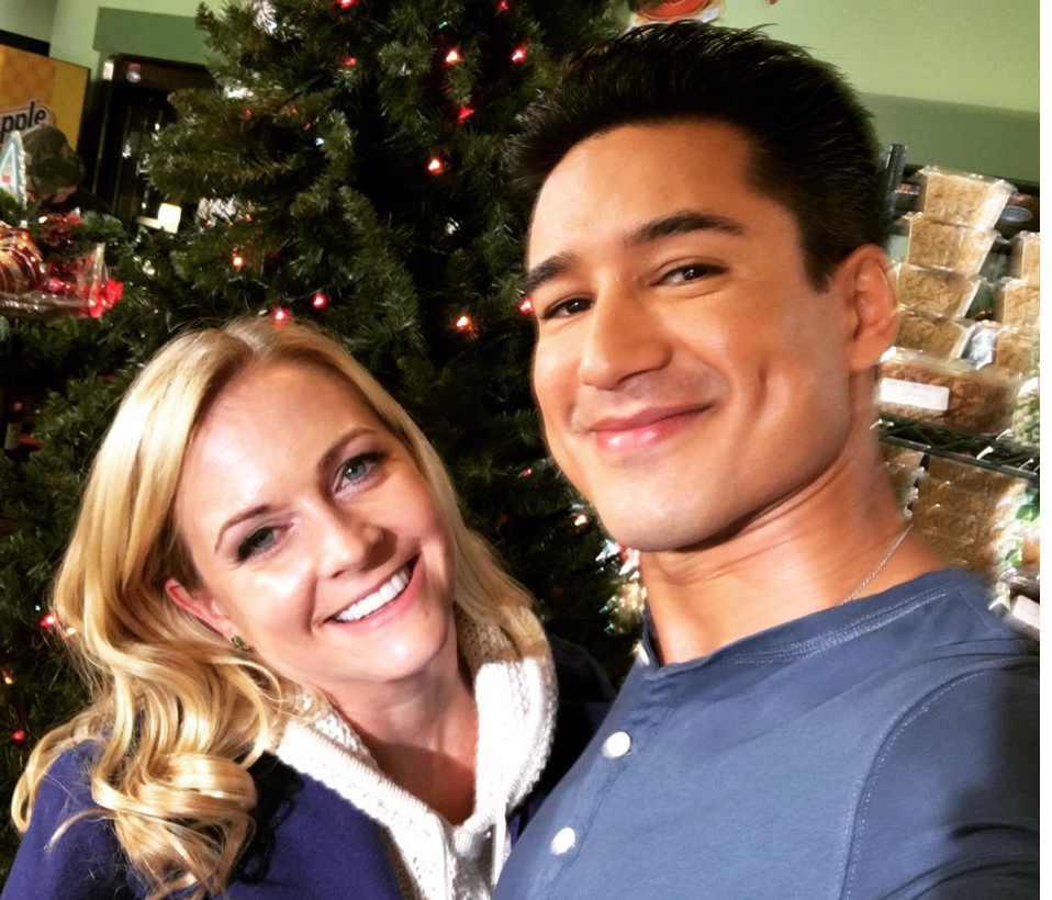 Melissa Joan Hart and Mario Lopez are coming together for a Christmas movie (again!)