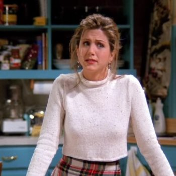 Jennifer Aniston addressed the internet's obsession with Rachel's nipples