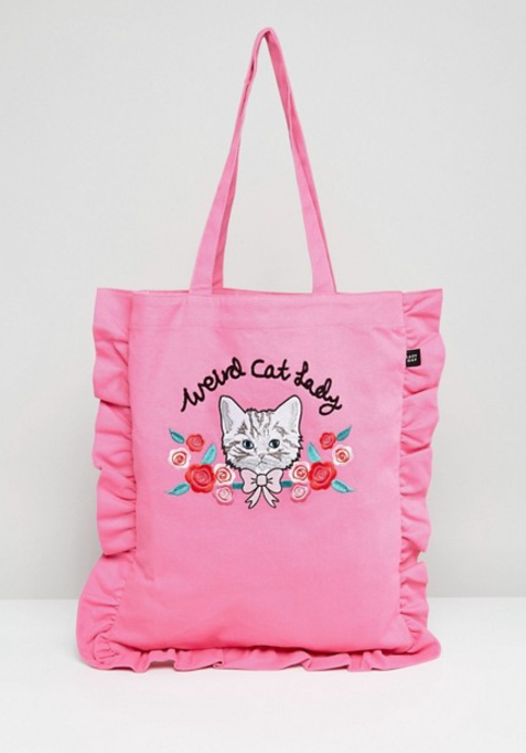Want Need A Tote Bag For Your Inner Weird Cat Lady And