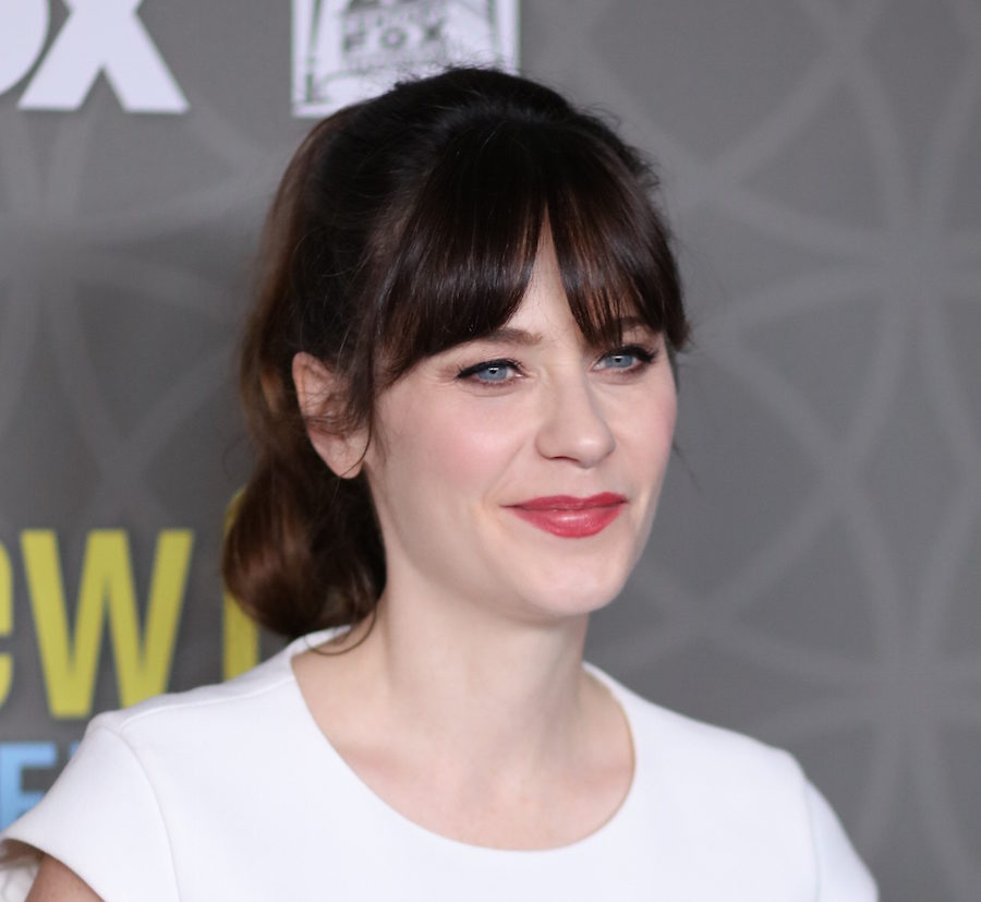 49ad34b59 Here's where you can buy Zooey Deschanel's empowering feminist T-shirt -  HelloGiggles