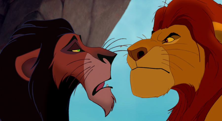 Lion King Scar And Mufasa Don't want to bust you...