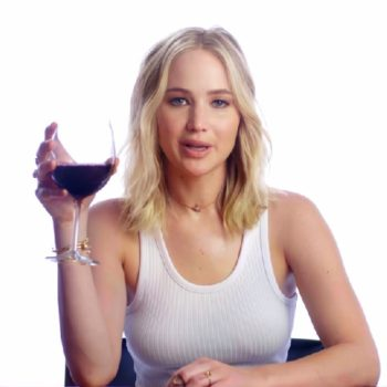 Jennifer Lawrence wants you to drink wine with her for a good cause