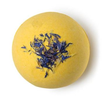 Lush Cosmetics wants to brighten up your day with its new Cheer Up Buttercup bath bomb