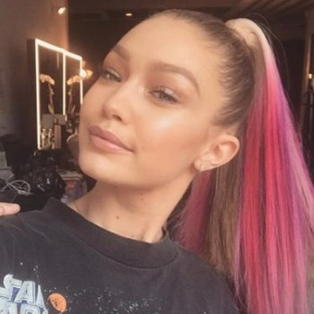 Gigi Hadid posted a picture of the freakiest spider we've ever seen, and Twitter is losing it