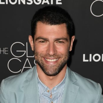 """Watching """"The Glass Castle"""" made Max Greenfield want to be a better dad, and our HEARTS"""