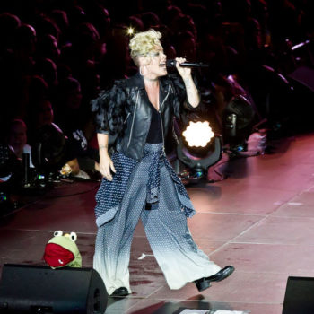 Pink shuts down the myth that female artists are always feuding with each other