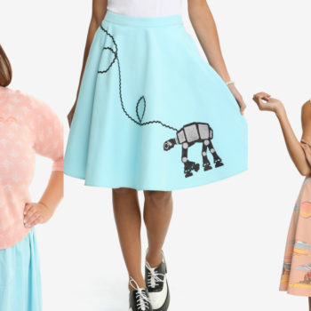 """HerUniverse just released a '50s-inspired """"Star Wars"""" collection for your next space sockhop"""