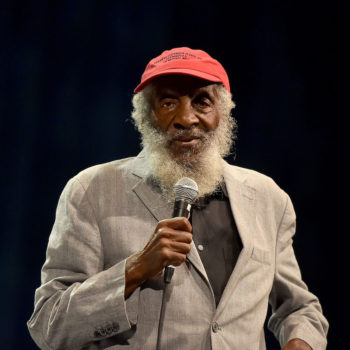 Comedian and activist Dick Gregory passed away last night