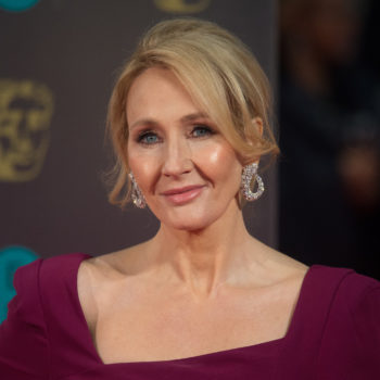 J.K. Rowling stepped in to defend a woman author after a guy tried to mansplain her own book to her