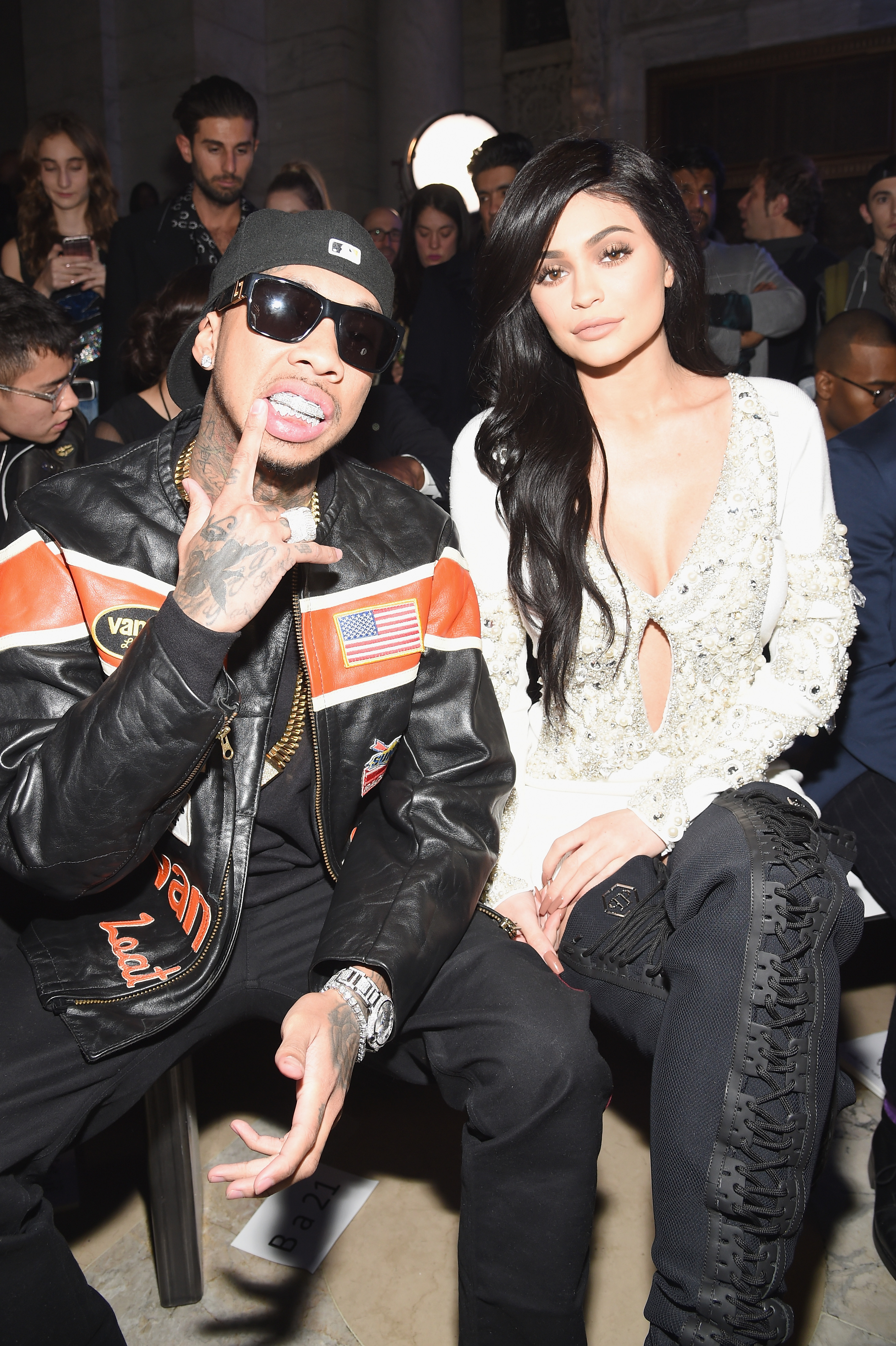 Image of Kylie Jenner and Tyga