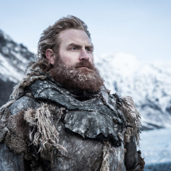 """Tormund declared he wants to have """"monster babies"""" with Brienne during """"Game of Thrones,"""" and it's so creepy and adorable"""