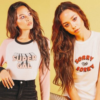 Wear your feelings loud and proud with Nylon and Valfré's cheeky capsule collection