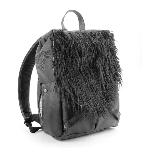 Image of Jon Snow's backpack
