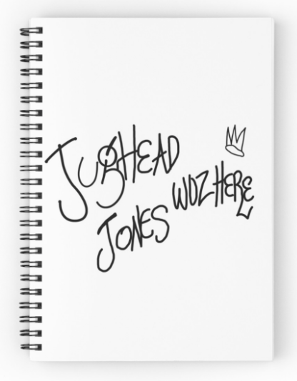Image of Jughead Jones notebook