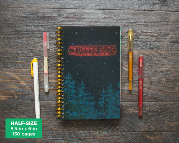 Image of Stranger Things planner