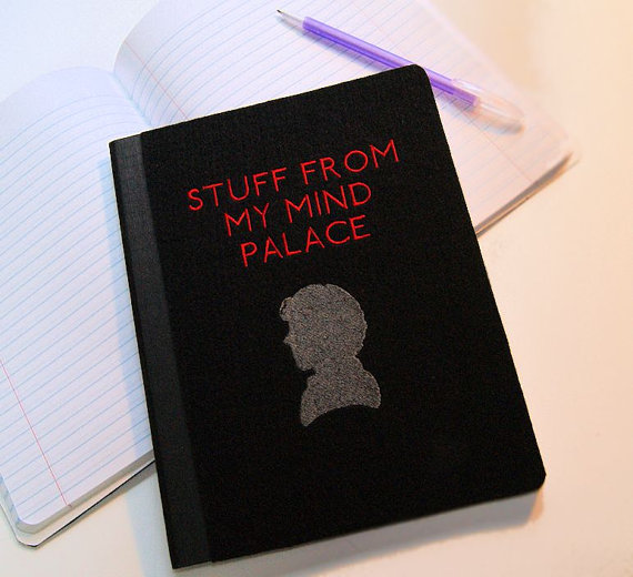Image of Sherlock notebook