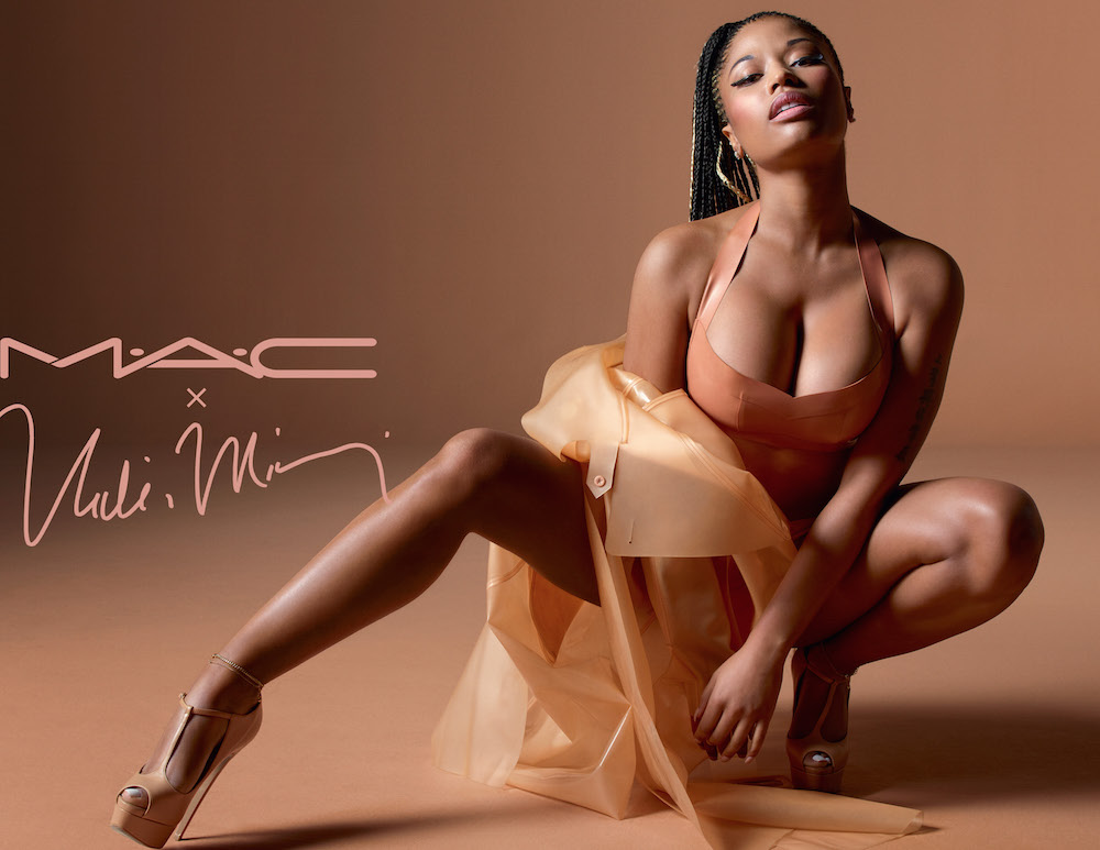 Nicki Minaj Partners With MAC for Nude Lipstick Collection