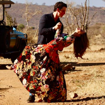Miles Teller proposed to his longtime girlfriend, and the ring is bonkers