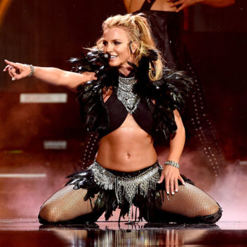 Britney Spears works out to her own music, and it's hot as ice