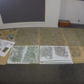 This time-lapse video of a man assembling a 33,600-piece puzzle is absolutely incredible