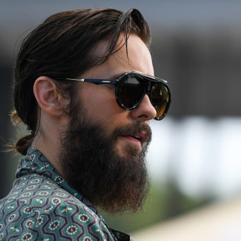 Jared Leto wants you to help him shave his beard