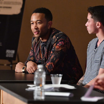 John Legend is starting a program to help teens redefine what it means to be a man
