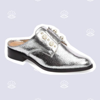 Calling Blair Waldorf, pearl-embellished shoes are about to be the next big trend for 2017
