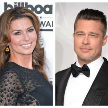 """Shania Twain says Brad Pitt's nudes inspired """"That Don't Impress Me Much"""""""