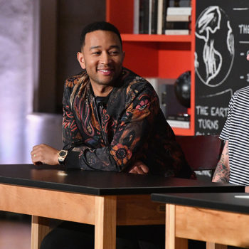 """John Legend has some powerful things to say about what it means to """"be a man"""" in 2017"""