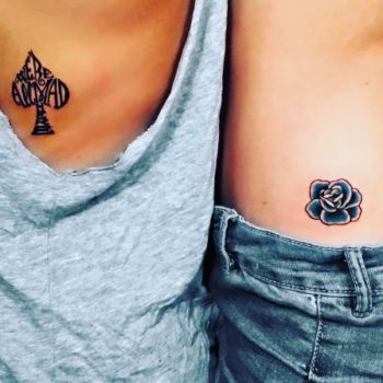 I got a spontaneous tattoo with my best friend, and it's taught me to live life fully