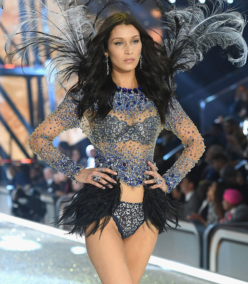 Stella Maxwell gets her wings for Victoria's Secret fashion show