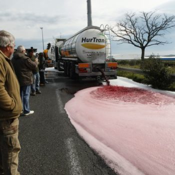 This is why France's streets look like rivers of red wine right now