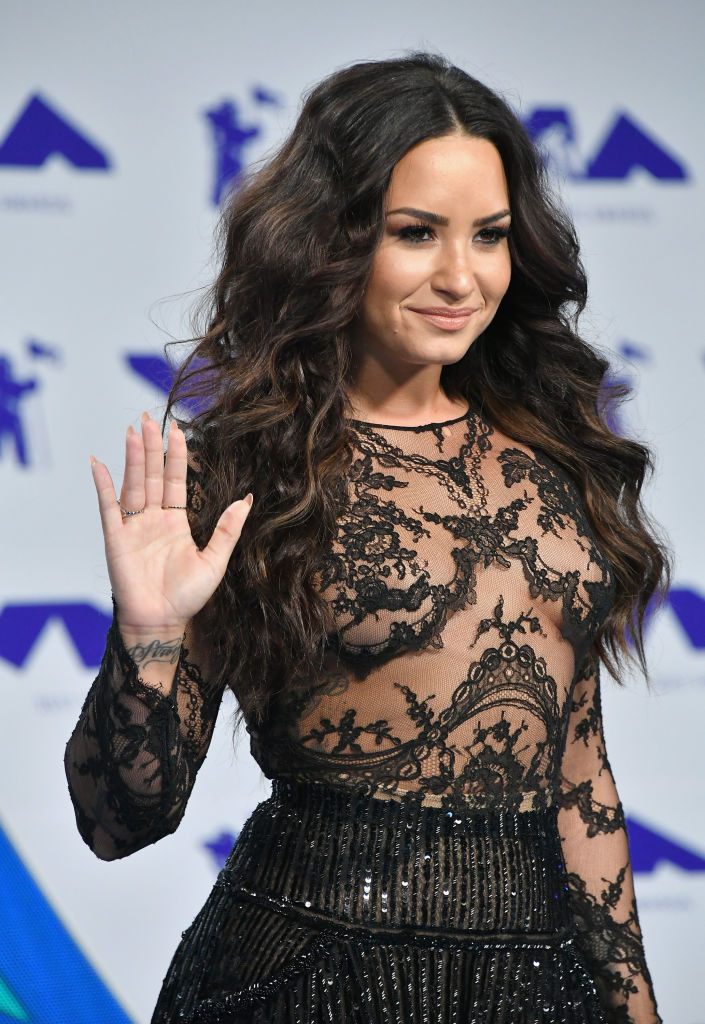 Demi Lovato Radiated Pure Confidence In A Sheer Top At The