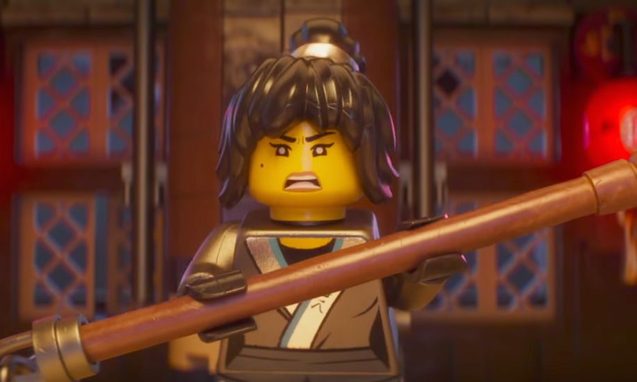 "We've got a new look at the fierce lady ninja in ""The Lego ..."