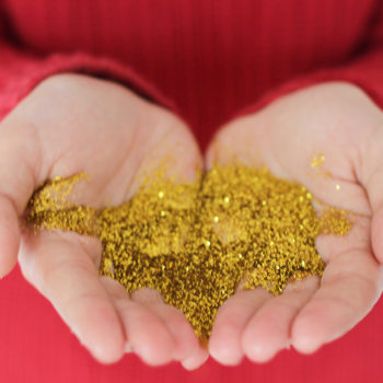 You'll never guess where people are putting glitter now