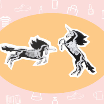 WANT/NEED: Skeleton unicorn earrings that are adorably creepy, and other stuff you'll want