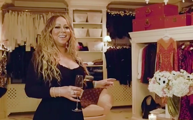 Mariah Carey Blessed Us Mere Mortals With A Peek Inside Her Legendary Closet