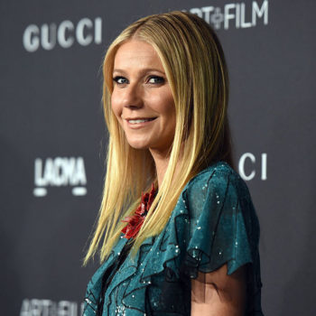 """Gwyneth Paltrow is covered in mud in the most glam way for the first edition of """"Goop"""" magazine"""