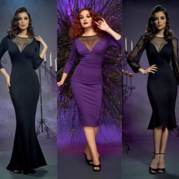 Elvira, Mistress of the Dark, tells us about her spooky-stylish collab with Pinup Girl Clothing