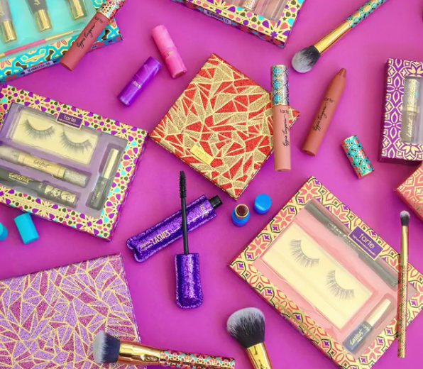 tarte cosmetics dropped its holiday collection early and