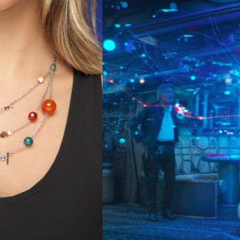"""You can wear the whole """"Star Wars"""" galaxy around your neck with this glam necklace"""